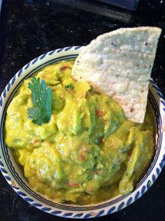 A Gluten Free Breeze...With My Marine: Tropical avocado salsa- Vitamix recipe