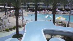 Today, the Jones Family hit Universal Orlando Resort's brand new hotel called Cabana Bay Beach Resort. This resort has amazing pool areas. Jones Family, Universal Orlando, Beach Resorts, Cabana, Lazy, Hotels, River, Outdoor Decor, Cabanas