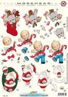 knipvellen - Поиск в Google Xmas Crafts, Diy Crafts, Paper Crafts, Decoupage Vintage, Decoupage Ideas, Christmas And New Year, Christmas Cards, 3d Sheets, Free Christmas Printables