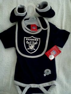 Born Into Raider Nation....Baby