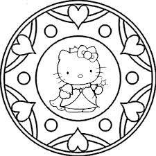 Free Mandalas page «mandalas-smiley». Smiley Mandala