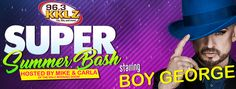 96.3 KKLZ's Super Summer Bash, Starring Iconic 80's Performers, Comes to Orleans Arena Aug. 25   Top artists of the '80s, including Boy George, The Romantics, Tiffany, Tommy Tutone, Nu Shooz and Farrington and Mann, will bring their classic hits to 96.3 KKLZ's Super Summer Bash at the Orleans Arena on Friday, Aug. 25.  Eighties music lovers will be taken back to one of the most