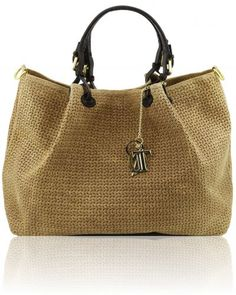 TL KEYLUCK TL141150 Woven printed leather shopping bag Borse A Tracolla ad73d187f27b