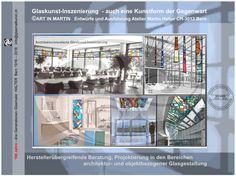 Seit 100 Jahren setzen wir uns mit Farbglasfenstern auseinander und lassen uns Ideen für Menschen einfallen, wie sich eine Glaskunst-Inszenierung in ihrer Umgebung zuhause ausrichten liesse. Immer auch in den Augen eines möglichen Auftraggebers gesehen,...