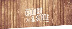 Church & State Brand Identity by Tim Praetzel, via Behance