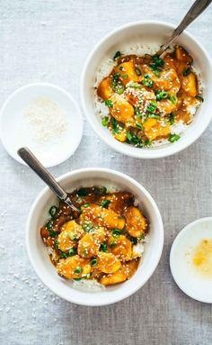 30-Minute Sesame Mango Chicken Teriyaki