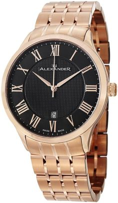 Gold watches : Gold watches for men Alexander
