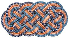 SerpentSea - Hand woven rope mats by Sophie Aschauer - Morgan