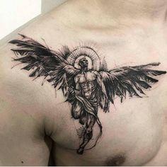 """683 Beğenme, 2 Yorum - Instagram'da Sketch Tattoo (@sketch_workk): """"Artista @tattootattoos ◆DEMON◆ ~~ ~ #tattooed #tattoosketch #tattoo #tattoos #tattoodesign #artwork…"""""""