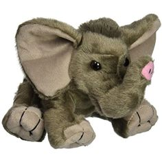Wild Republic CK-Mini African Elephant Baby Animal Plush * You can get more details by clicking on the image. (This is an affiliate link) #Puppets