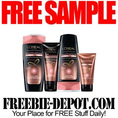 FREE SAMPLE – L'Oreal Ultimate Straight Hair Care Product – FREE Advanced Haircare Sample  #freesample