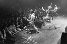 Ramones in concert at the Agora Ballroom in Atlanta on 30 January 1979. Dee Dee realised he couldn't sing and play bass and so Joey took over vocals. A drummer was needed. Their manager, Thomas Erdelyi, auditioned wannabes, but it soon became...