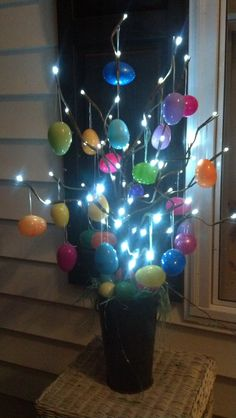 LED  Easter Egg Tree