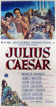 MovieArt Original Film Posters - JULIUS CAESAR (1953) 9175, $450.00 (http://www.movieart.com/julius-caesar-1953-9175/)