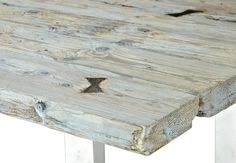 Table from river wood. Our production.