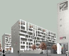 Cino Zucchi Architetti · Nuovo Portello · Divisare