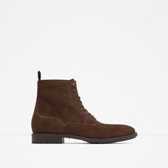 ZARA - MAN - LEATHER ANKLE BOOTS