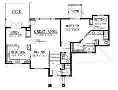 First Floor of Plan ID: 14226