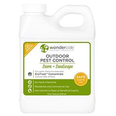 Pest Control Sprayers - Wondercide EcoTreat  Natural Outdoor Pest Control Concentrate  16 oz *** Click image for more details.