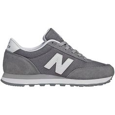 New Balance Suede and Mesh Athletic Sneakers (210 BRL) ❤ liked on Polyvore featuring shoes, sneakers, shoes - sneakers, grey, gray suede shoes, bre… | Pinteres…