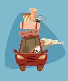 How to Create Summer Road Trip Illustration in Adobe Illustrator