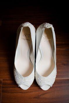 Jenny Packham wedding shoes | onefabday.com
