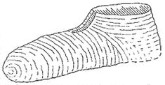 Naalbinding The history, origins, construction and use of 'needle-binding' with specific reference to the 'Coppergate sock'.  Naalbinding     is a textile technique where the material is produced in a darning technique, with a coarse needle and length of plied yarn, and where the thread of the new stitch is passed arbitrarily through at least two unfinished thread loops of arbitrary size.