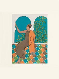 Paula Cox Andalucía, 2006 http://www.circulodelarte.com/es/obra/andalucia/es   Aguafuerte y aguatinta Formato de imagen: 47 x 33,5 cm Papel: Somerset 76 x 57 cm Edición de 75 ejemplares numerados y firmados