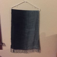 Ombré, Blue/Gray Scarf Navy/ warm blue/ gray • Versatile and soft Nordstrom BP Accessories Scarves & Wraps