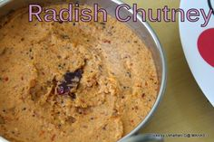 Indian Recipes with step wise pictures South Indian Chutney Recipes, Indian Food Recipes, White Radish Recipes, Rice Recipes, Kids Meals, Oatmeal, Breakfast, Easy, The Oatmeal