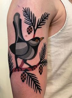 Bard Tjelta bird Tattoo Spain And Portugal, Tarot, Skull, Bird, Tattoos, Tatuajes, Tattoo, Japanese Tattoos, Birds