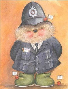 Country Companions: police officer