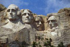 Jefferson, Thomas Jefferson, Abraham Lincoln, Rushmore, George Washington