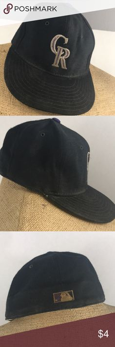 Vintage Colorado Rockies new era size 7 Vintage Colorado Rockies new era size 7 Accessories Hats
