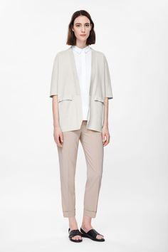 Milano-knit blazer