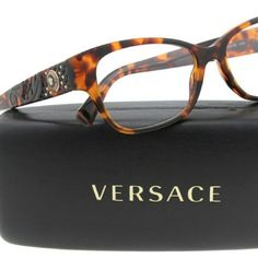 c44590e8790 Versace Eyeglasses New and Authentic Versace Eyeglasses Brown frame 52mm  Includes original case Versace Accessories Glasses