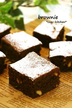 Sweet and Happy Brownie ♪