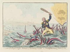 Horatio Nelson ('Extirpation of the plagues of Egypt …  ca. 1798