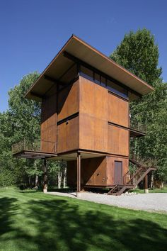 Delta Shelter by Olson Kundig Architects, Metho Valley, Washington