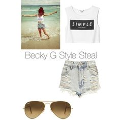 Becky G styles steal