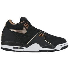 opvallende Nike air flight 89 heren sneakers (Zwart)