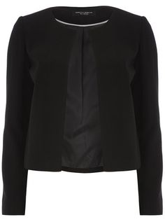 Black Crepe Dome Jacket - View All New In  - New In