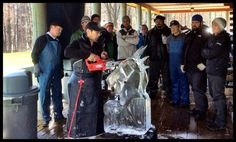 Ice Carving Boot Camp Special Forces 2015 Junichi Nakamura