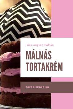Málnás tortakrém – Tortaiskola