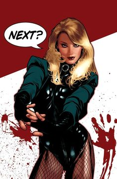 Black Canary by Adam Hughes