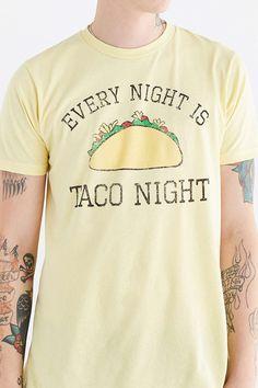 Retro Brand Taco Night Tee