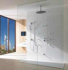 Shower Fixture that sprays out of 7 different places!