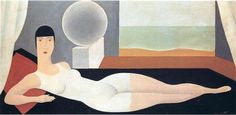 Bather - Rene Magritte