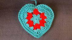 Crochet granny style heart...FREE PATTERN!!
