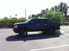 Blacked out Chevy Avalanche